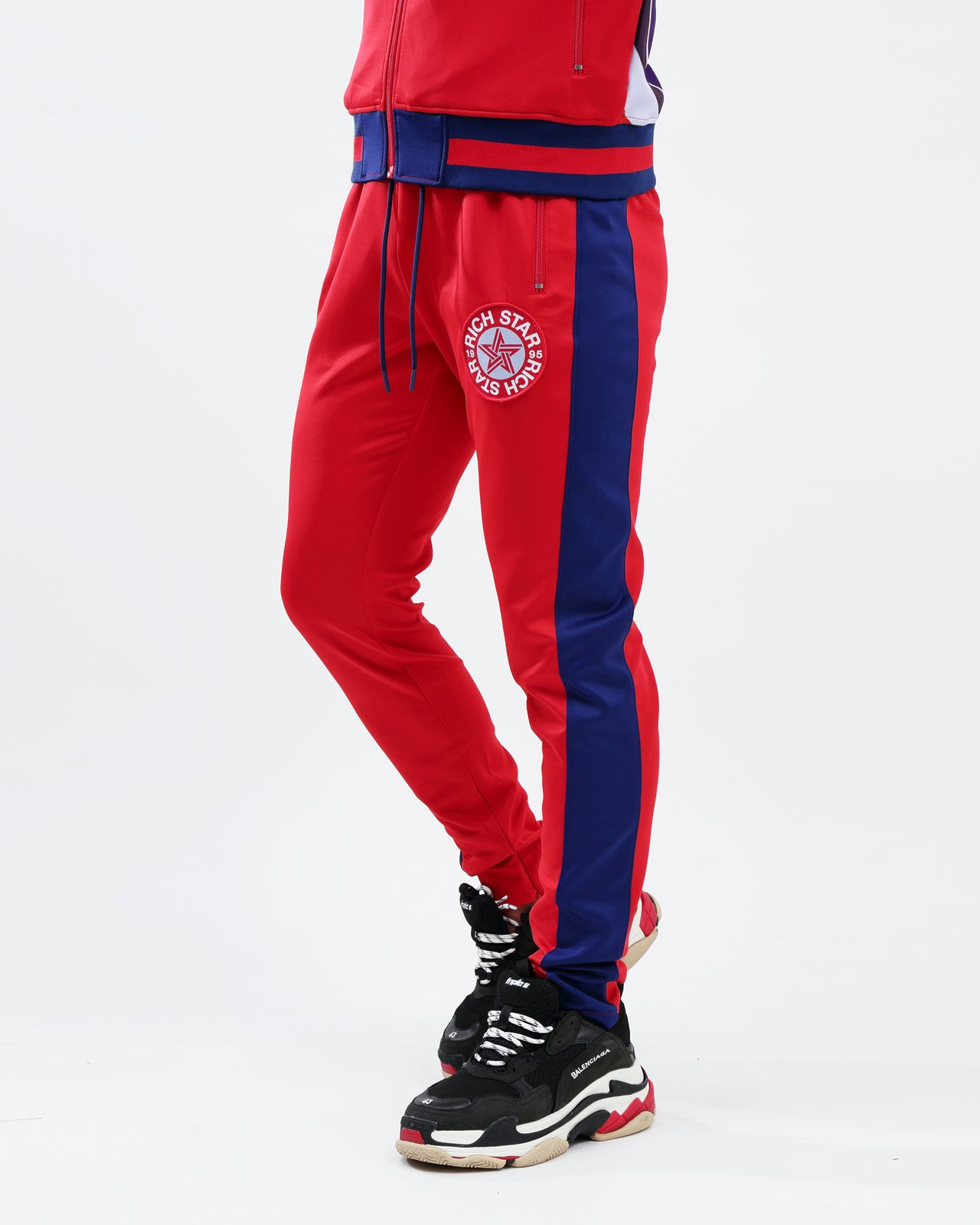 BIG LOGO TRACK PANT - Color: RED