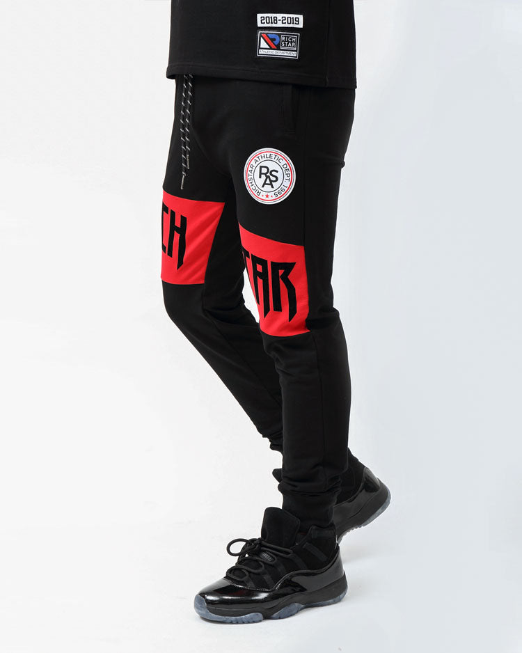 MOSTER SPORT JOGGERS-COLOR: BLACK