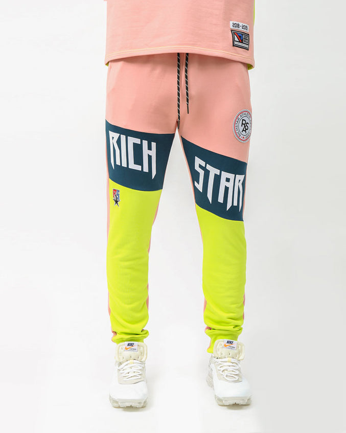 MOSTER SPORT JOGGERS-COLOR: PINK