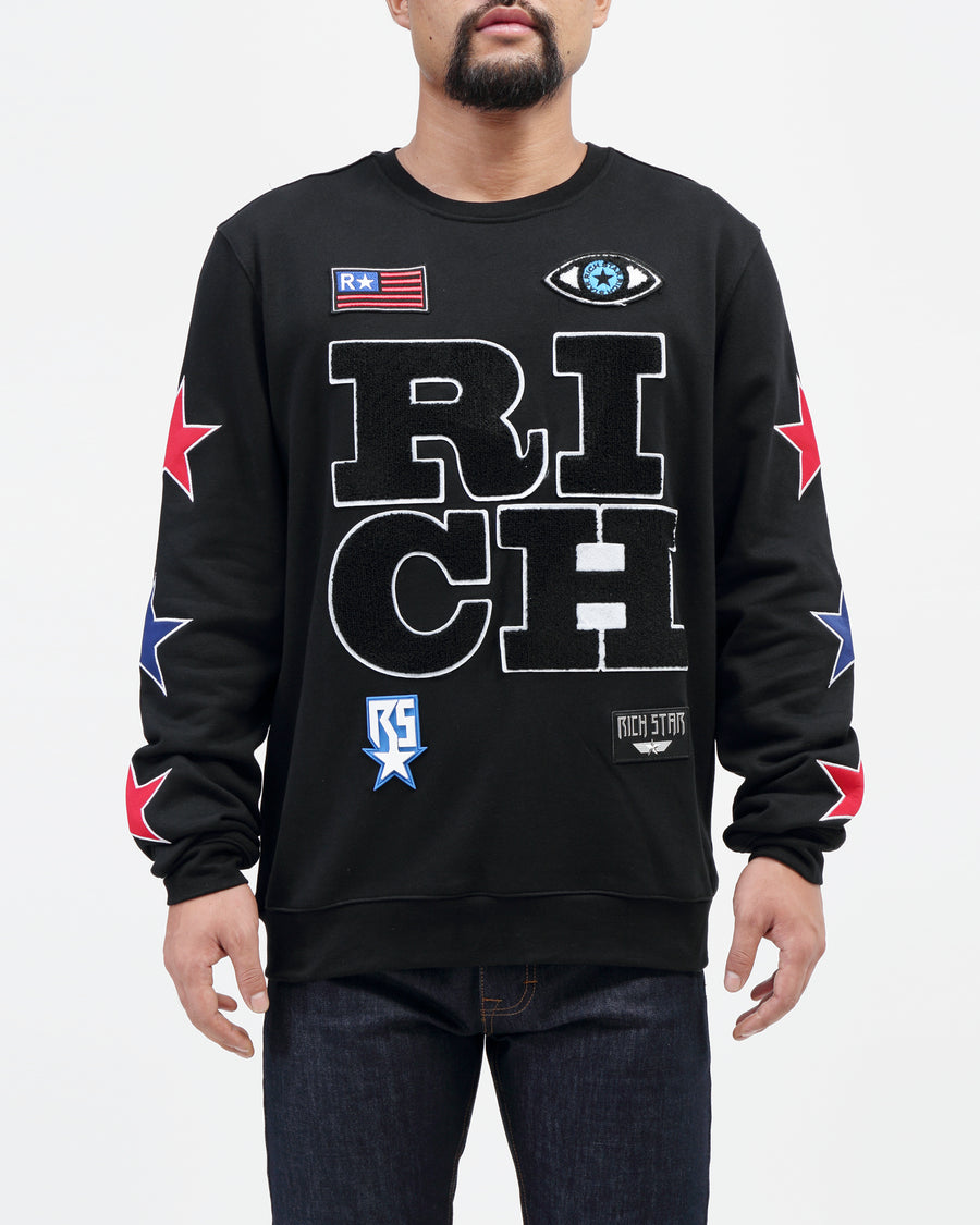 Rich Star Logo Crew Neck