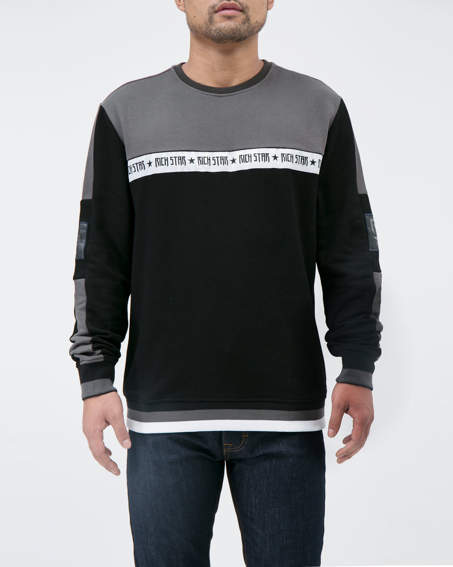 RS Box Bristle Crew Sweatshirt