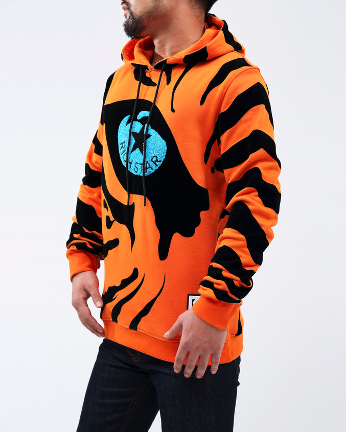 RS Eye Of the Tiger Hoody - Color: orange