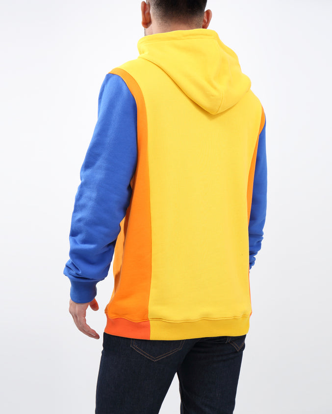 Rich Star Forever Pull Over Hoody - Color: YELLOW