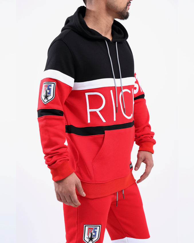 UNITED STAR PO HOODY - Color: RED