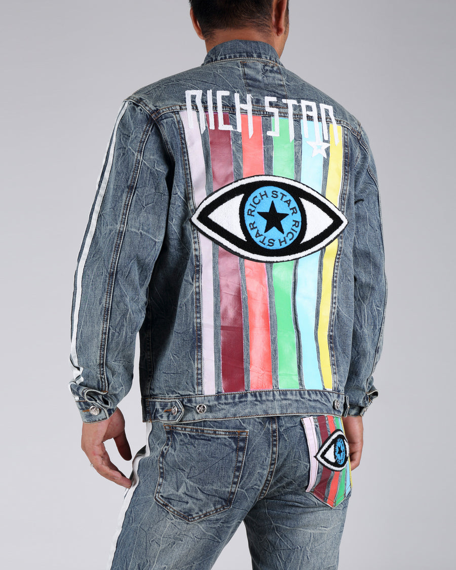 Star Eye Denim Jacket
