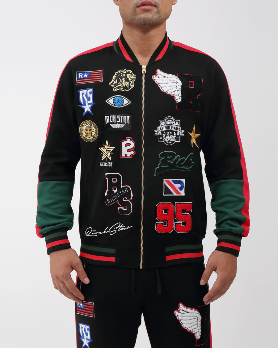 RS Patch Varsity Jacket