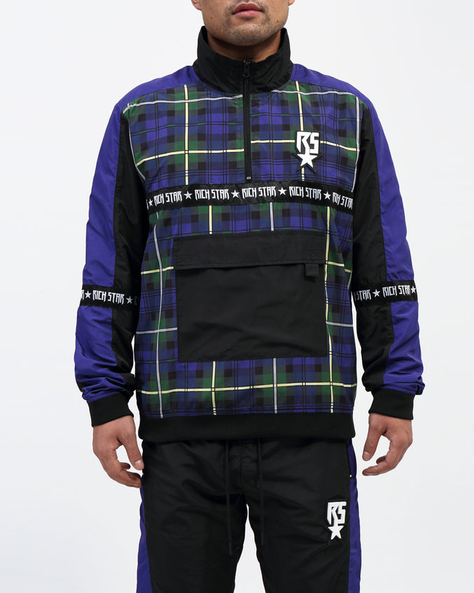 RS Trantan Pullover Jacket - Color: BLUE