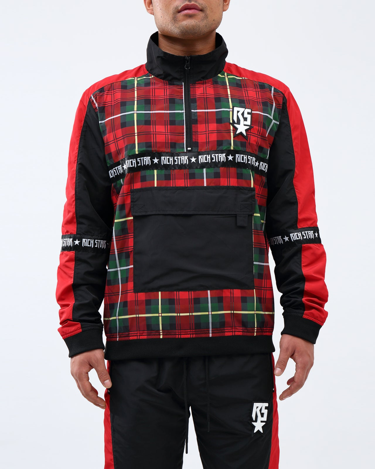 RS Trantan Pullover Jacket - Color: RED