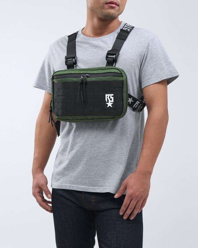 RS LOGO CHEST RIG BAG - Color: Olive