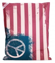 Sitting Point Sitzsack Big Bag Peace Flag