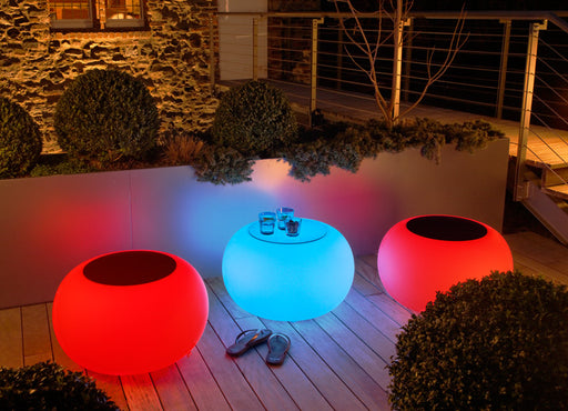 Moree Bubble Outdoor LED Leuchttisch