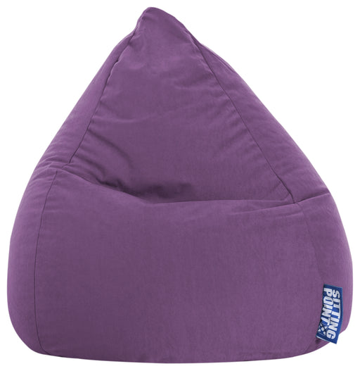 Sitting Point Sitzsack Bean Bag - Easy L-Lila-120l