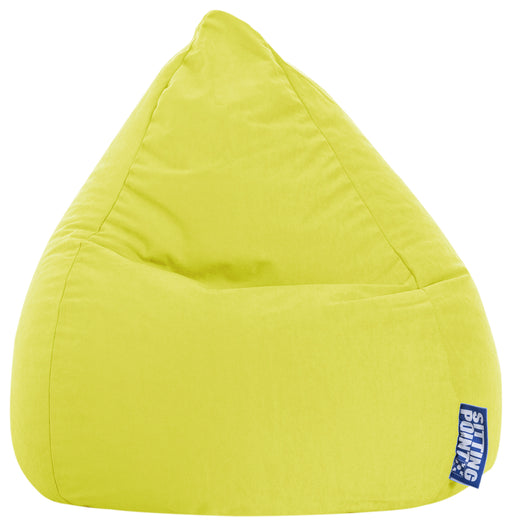 Sitting Point Sitzsack Bean Bag - Easy L-Limone-120l