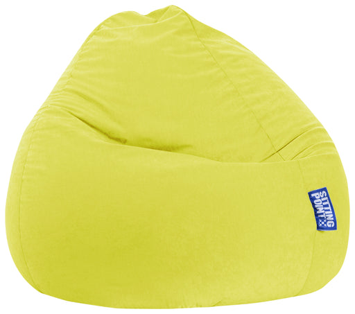 Sitting Point Sitzsack BeanBag - Easy XXL-Limone-300l