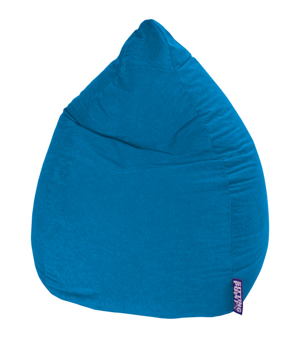 Sitting Point Sitzsack BeanBag - Easy XXL-Blau-300l