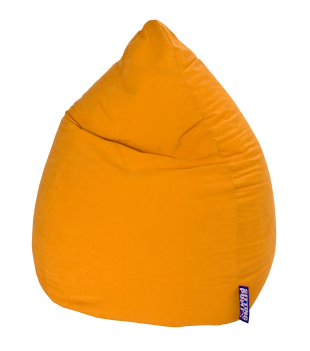 Sitting Point Sitzsack BeanBag - Easy XXL-Gelb-300l