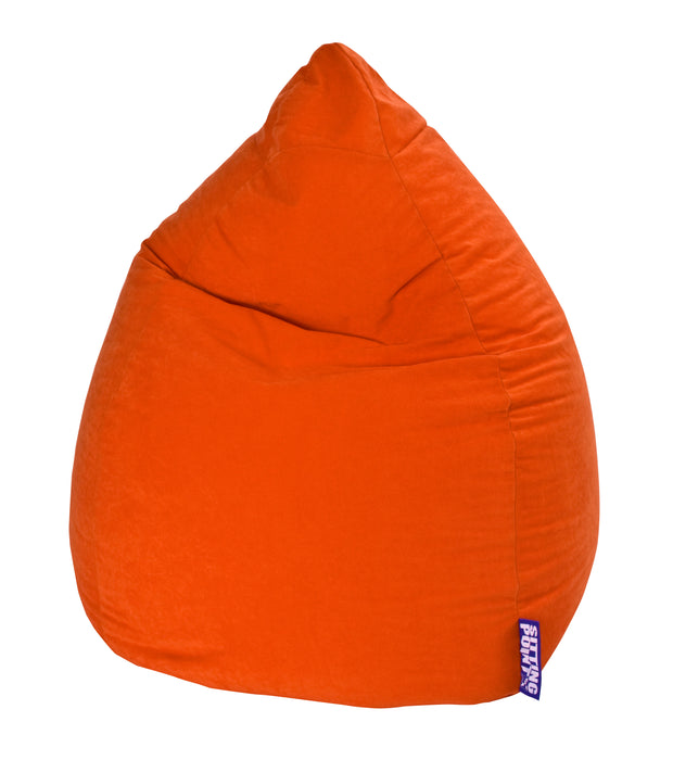 Sitting Point Sitzsack BeanBag - Easy XXL-Orange-300l