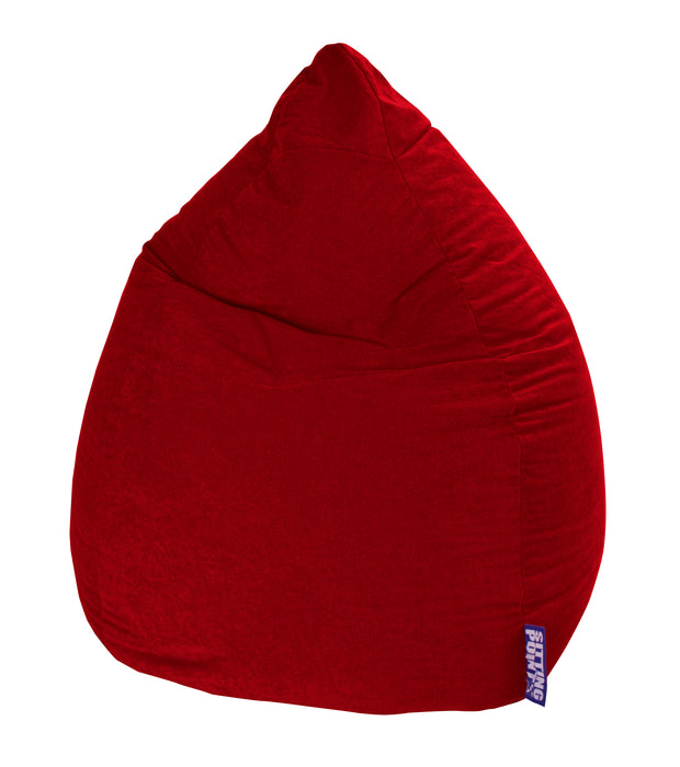 Sitting Point Sitzsack BeanBag - Easy XXL-Rot-300l