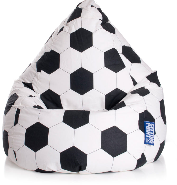 Sitting Point Sitzsack Beanbag - Fussball L-Indoor-120l