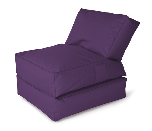Sitting Point Sitzsack Twist - Scuba-Aubergine-Indoor/Outdoor-300l