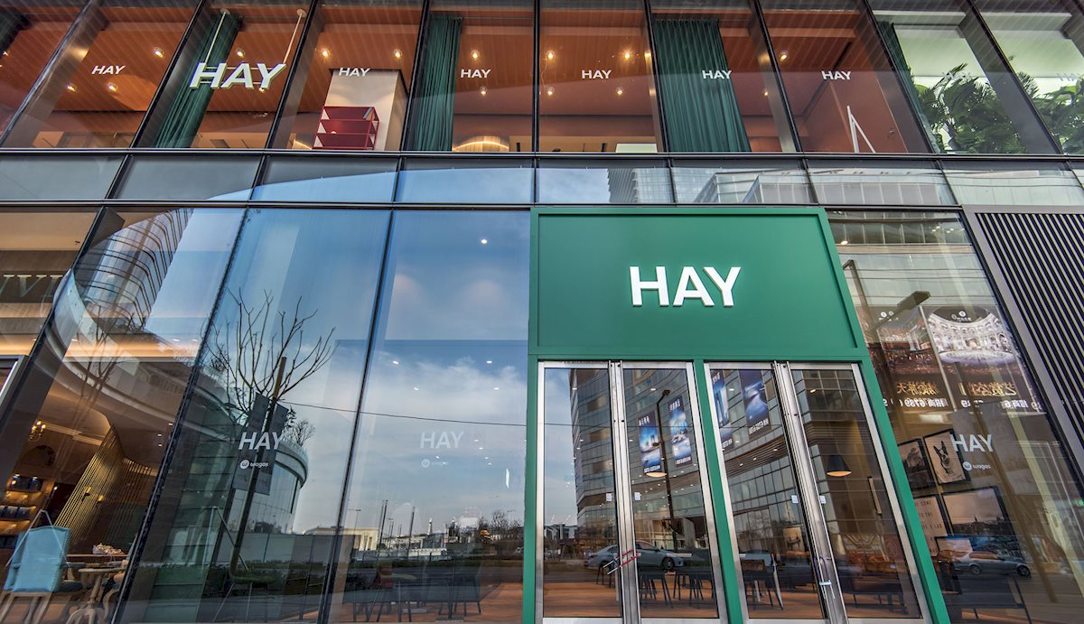 THREE NEW HAY STORES IN CHINA
