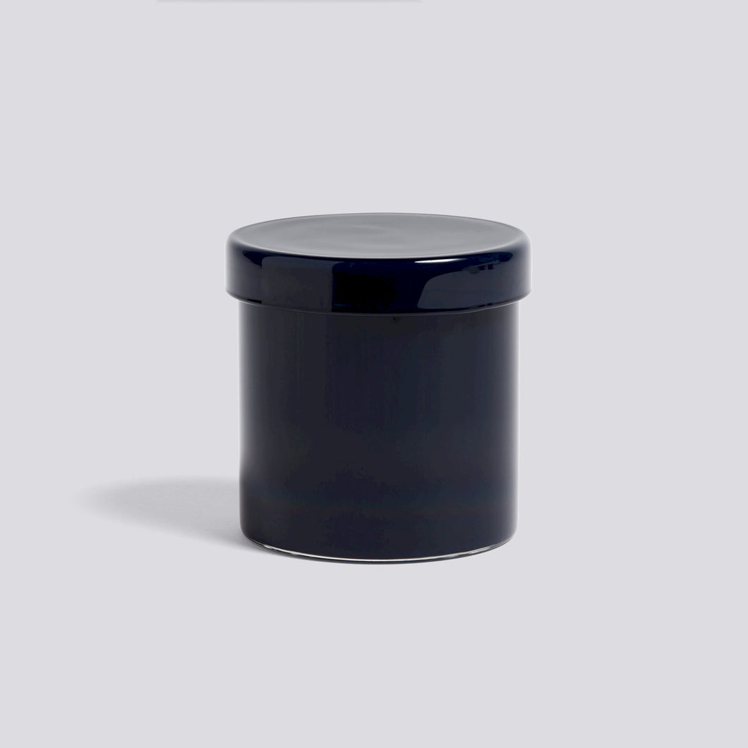 Container large, dark blue