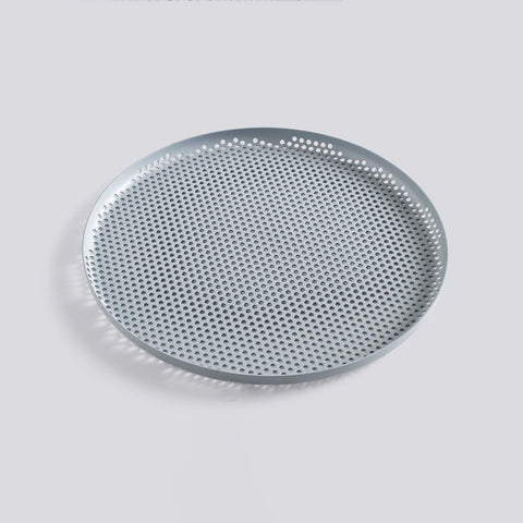 Perforated Tray Large Dusty Blue