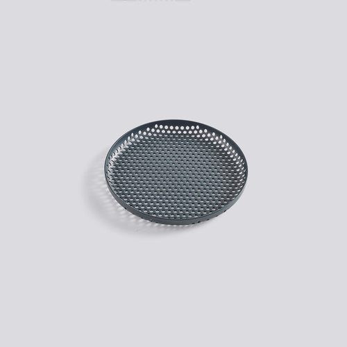 Perforated Tray Small Dark Green