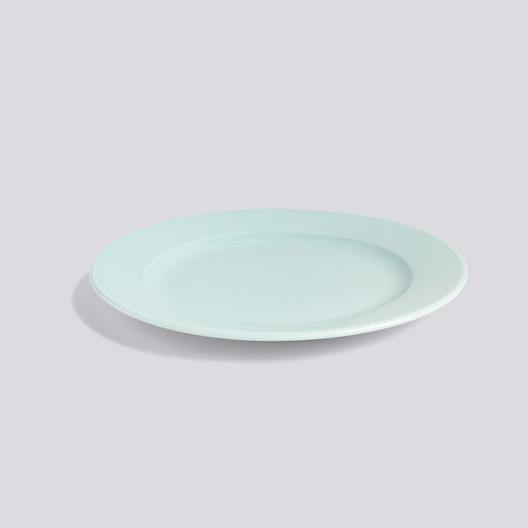 Rainbow - Plate, Medium, Mint Green
