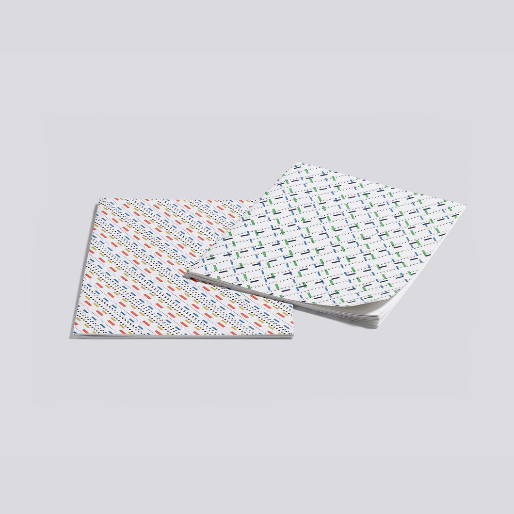 Line Dot / Large Two Booklets