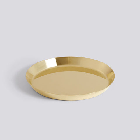 Botanical Saucer, Medium, Brass