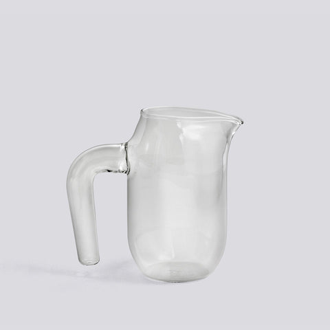 Jug small, clear