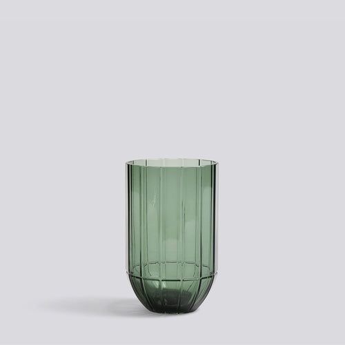 Colour Vase - medium, green