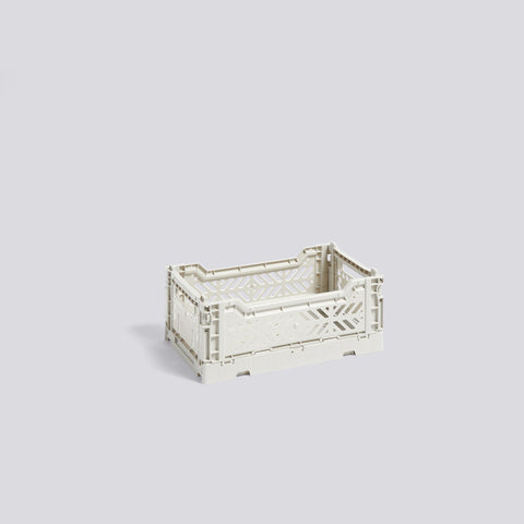 Colour Crate, Small, Light Grey