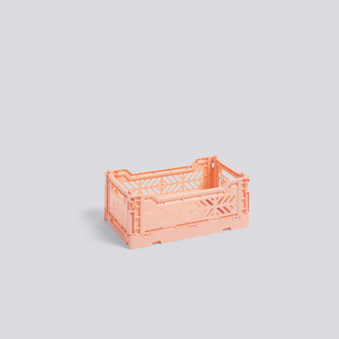 Colour Crate, Small, Salmon