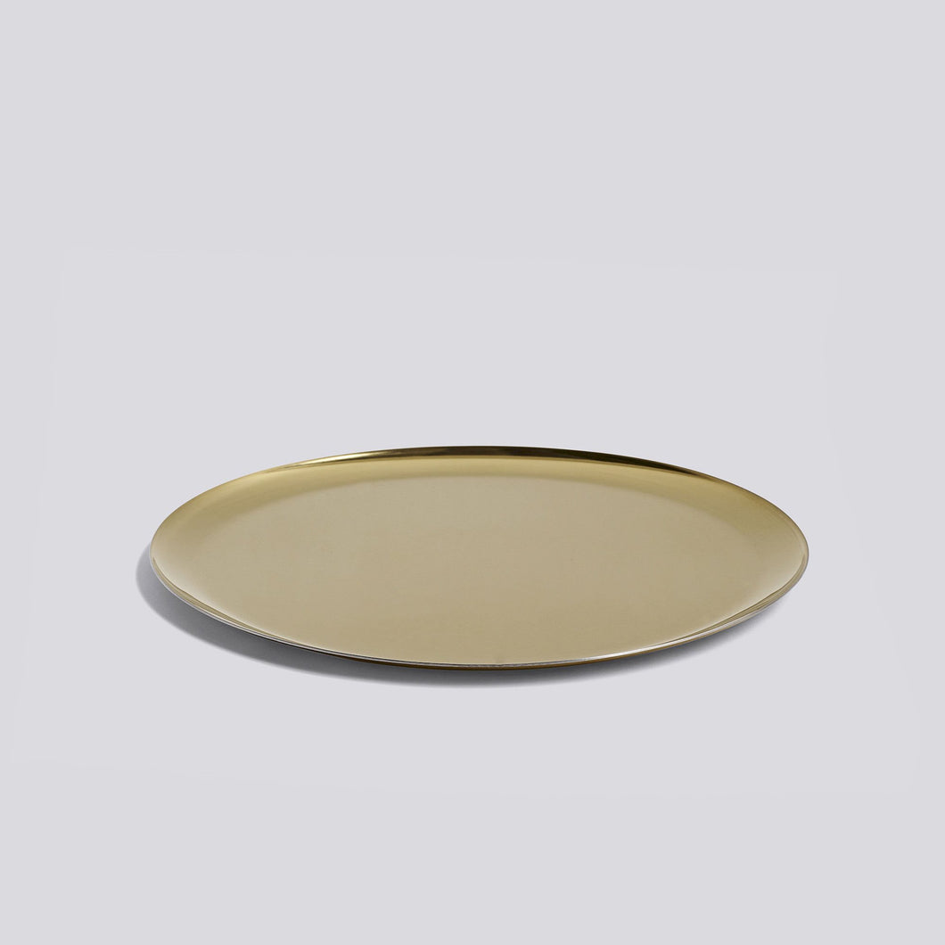 Serving Tray - Golden Ø28cm