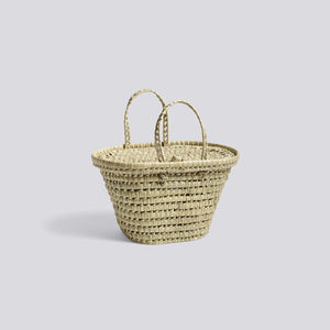 Bast Basket, Medium - Nature