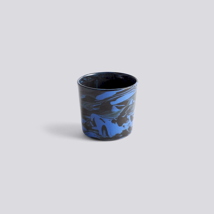 Marbled Cup - Dark Blue