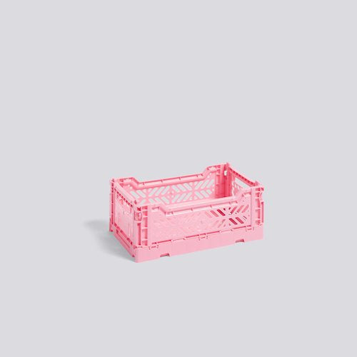 Colour Crate, Small, Light Pink