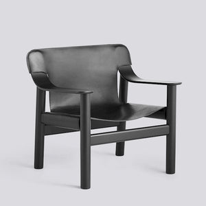 Bernard Lounge Chair - Leather Covered