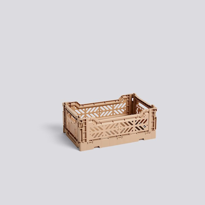 Colour Crate, Small, Nougat