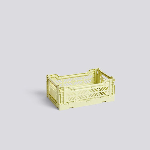 Colour Crate, Small, Lime