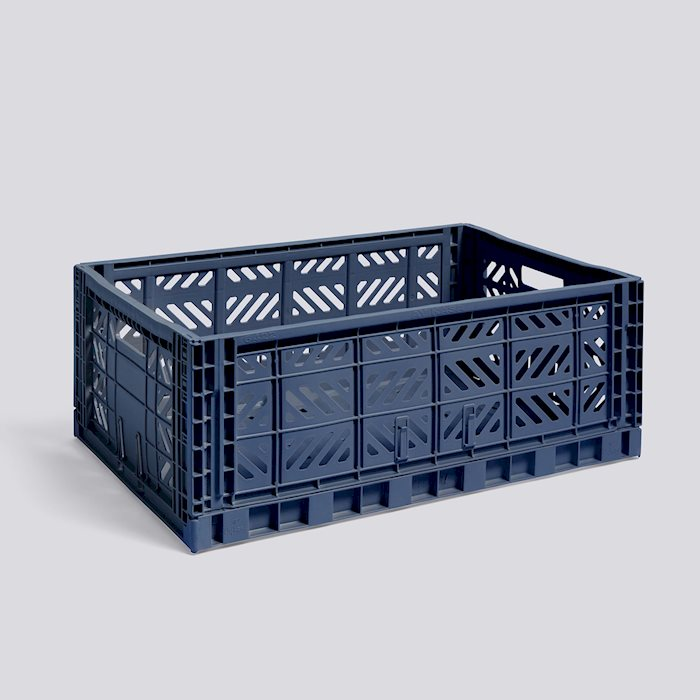 Colour Crate - Large, Navy