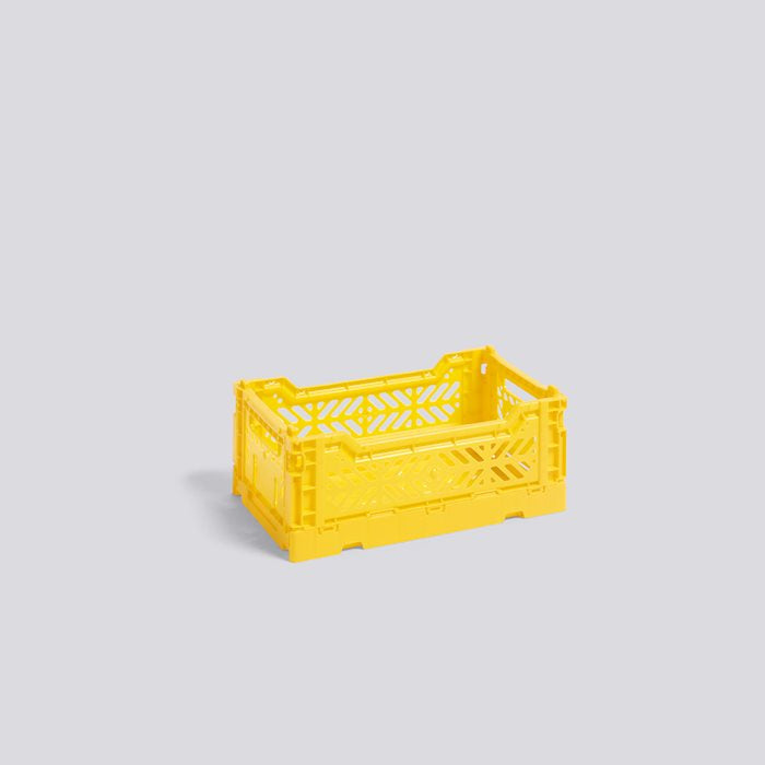 Colour Crate, Small, Yellow