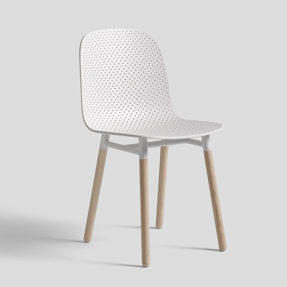 13Eighty Chair, Wood base