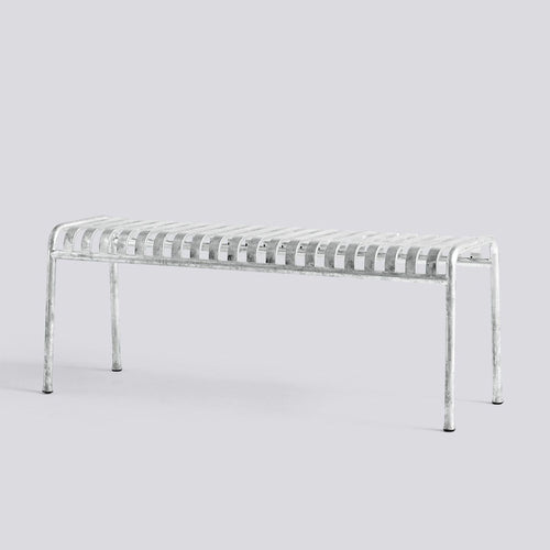 Palissade Bench - Galvanised