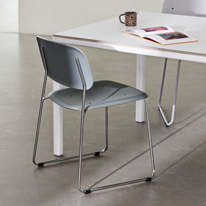 Soft Edge 10 Chair Sled Unupholstered