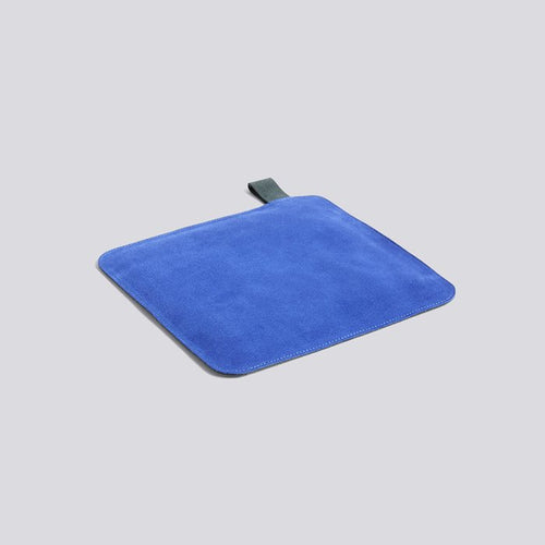 Suede Pot Holder Blue