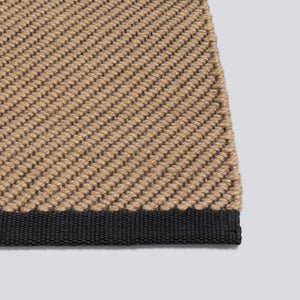 Bias Rug - Medium, Cappuccino