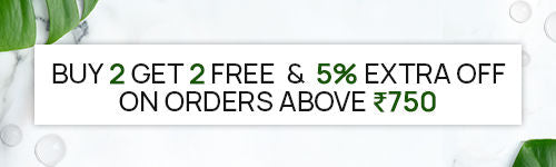 Buy 2 Get 2 Free, or Get Flat 15% off - use code FLAT15 on cart page